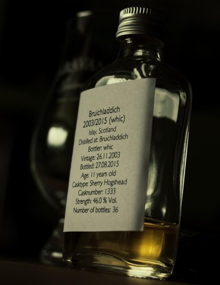 Bruichladdich 11 Jahre Sherry Hogshead, 46%(whic)