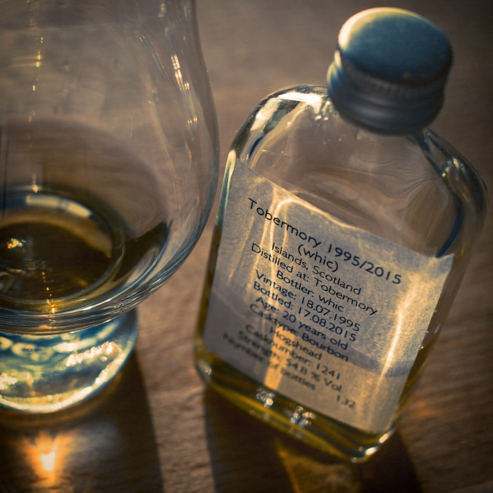 Tobermory 20 Jahre, 54,8% (Whic)