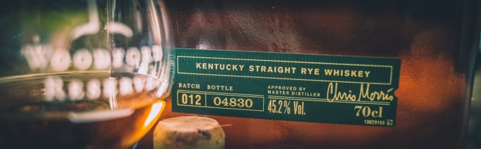 Woodford Reserve Kentucky Straight Rye, 45,2%
