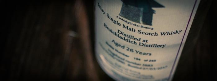 Bruichladdich 26 Jahre Whiskybroker,47,3%