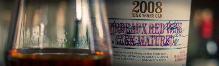 Deanston 2008 Bordeaux Red Wine Casks,58,7%